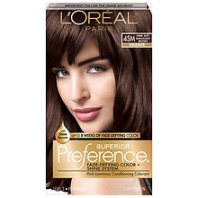 L'Oreal Paris Preference Permanent Hair Color Dark Soft Mahogany Brown 4SM
