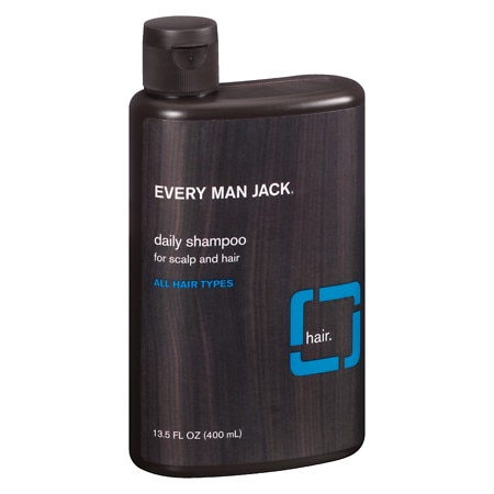 Every Man Jack Daily Shampoo for All Hair Types Signature Mint