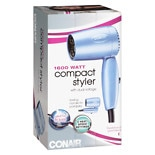 Conair Mini Turbo Folding Dryer 124A