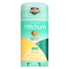 Mitchum for Women Advanced Invisible Solid Anti-Perspirant & Deodorant Pure Fresh