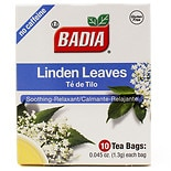 Badia Herbal Tea Linden Leaves