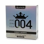 Buy one, get one free on select Okamoto, Beyond Seven & Crown condoms.