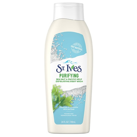 St. Ives Exfoliating Body Wash Purifying Sea Salt