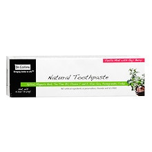 Dr. Collins Natural Toothpaste Vanilla Mint with Goji Berry
