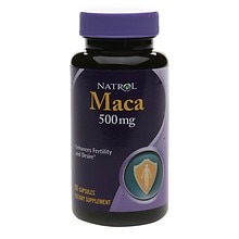 Maca 500 mg Dietary Supplement Capsules