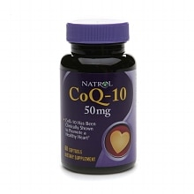 Natrol CoQ-10, 50mg, Softgels