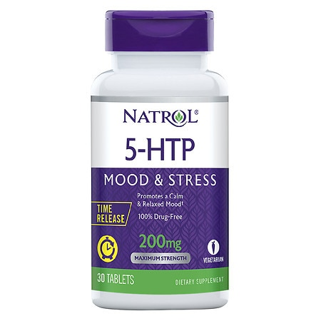 Natrol 5-HTP TR Time Release 200 mg