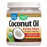 Nature's Way EfaGold Coconut Oil, Pure Extra Virgin