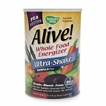 Nature's Way Alive! Pea Protein Whole Food Energizer, Ultra-Shake Vanilla