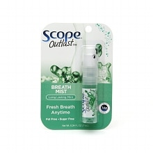 Scope Outlast Breath Mist Long Lasting Mint