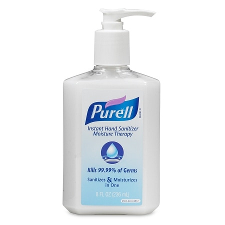 Purell Advanced Hand Sanitizer, Pump Moisture Therapy