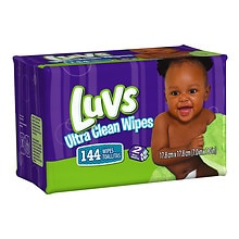 Luvs Ultra Clean Wipes, 2x Refill