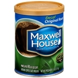 Maxwell House Ground Coffee Decaf Original Roast
