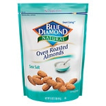 Blue Diamond Natural Oven Roasted Almonds Sea Salt