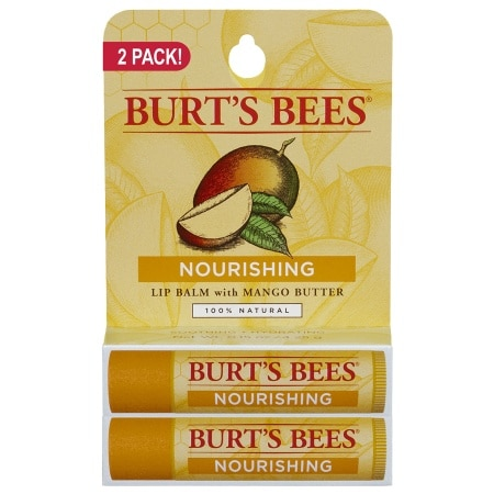 Burt's Bees 100% Natural Lip Balm Mango Butter