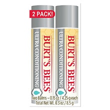 Burt's Bees Lip Balm Ultra Conditioning with Kokum Butter Twin Pack