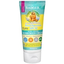 Badger SPF 30 Baby Sunscreen Cream - 2.9oz