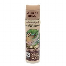 Badger Cocoa Butter Lip Balm Vanilla Bean