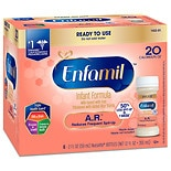 Enfamil A.R. Infant Formula for Spit-Up, 20 Calorie/fl oz Nursettes, 0-3 months