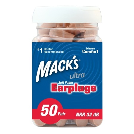 Mack's Safesound Earplugs 100ct