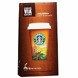 Starbucks Coffee Via Ready Brew Medium Instant Coffee 8 Pack Columbia