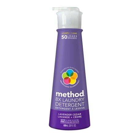 method Laundry Detergent, 50 Loads Lavender Cedar
