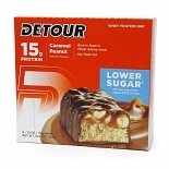 Detour 15g Whey Protein Bar, Lower Sugar Caramel Peanut