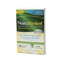 NatuRelief CHEWABLE TABLETS 30 CT