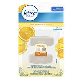 Febreze Set & Refresh Air Freshner, Dual Refill, Clean Zest, Advanced Odor Eliminator