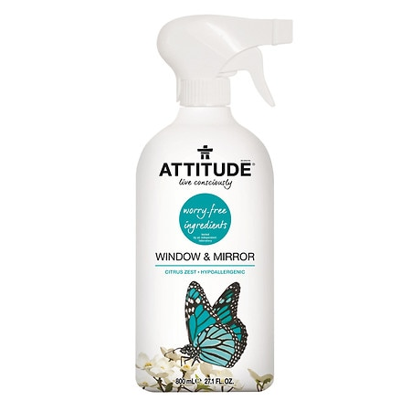 Attitude Window & Mirror Cleaner Citrus Zest