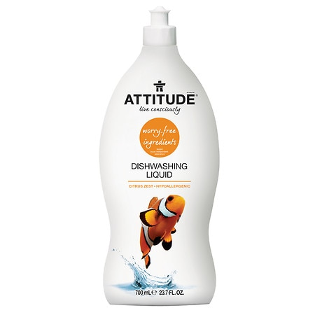 Attitude Dishwashing Liquid Zest