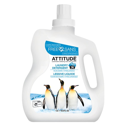 Attitude Laundry Detergent, 40 Loads Wildflowers