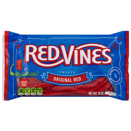 Red Vines Twists Original Red