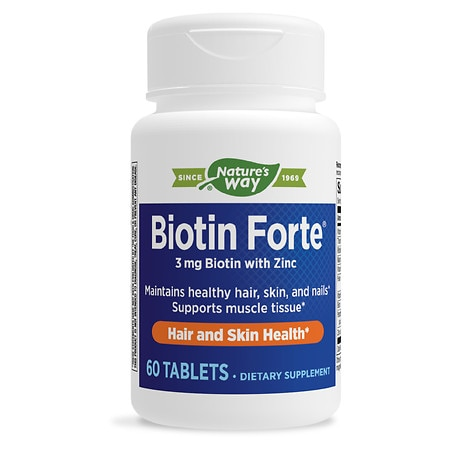 PhytoPharmica Biotin Forte 3 mg with Zinc Tablets