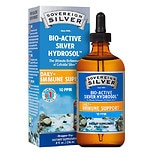 Bio-Active Silver Hydrosol, Dropper-Top