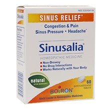Boiron Sinusalia, Tablets