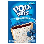Pop-Tarts Frosted Blueberry Toaster Pastries 8 Pack Frosted Blueberry