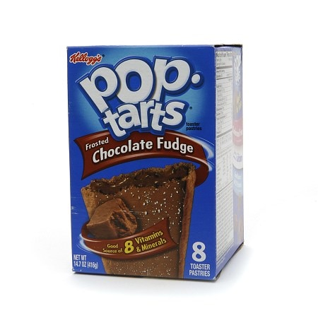 Pop Tarts Toaster Pastries Frosted Chocolate Fudge,8 pk