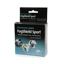 Bausch + Lomb FogShield Sport Anti-Fog Treatment & Lens Cleaning System 10 Applicator Cloths & 1 Micro-Fiber