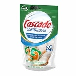 Cascade Complete 2-in-1 ActionPacs Dishwasher Detergent Citrus Breeze
