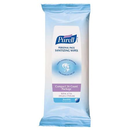 Purell Personal Pack Sanitizing Wipes
