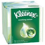 Kleenex Tissues with Lotion & Aloe White Water Lily Iris