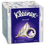 Kleenex Ultra Facial Tissue, Ultra Soft White