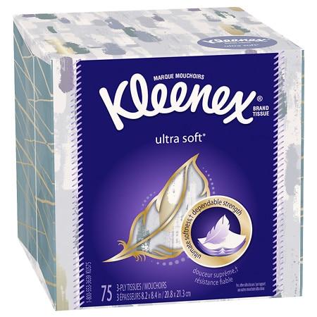 Kleenex Ultra Facial Tissue, Ultra Soft