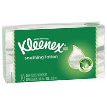 Kleenex Tissues with Lotion White