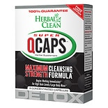 Herbal Clean Super QCaps, Extra Strength Cleansing Capsules