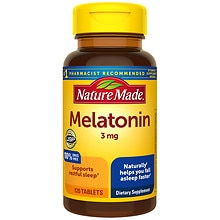 Nature Made Melatonin, 3mg, Tablets