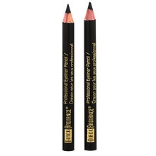 Twin Pack Eyeliner Pencil, Truly Black