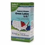 Natural Medicine by King Bio Regional Allergies Great Lakes U.S. Homeopathic Spray