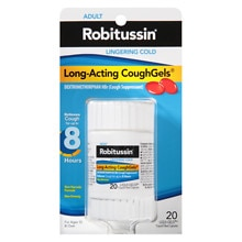 Robitussin Peak Cold Lingering Cold Long-Acting CoughGels